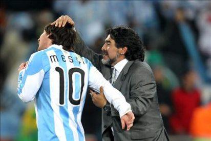 """Messi """"lamenta"""" que Maradona no sea seleccionador argentino"""