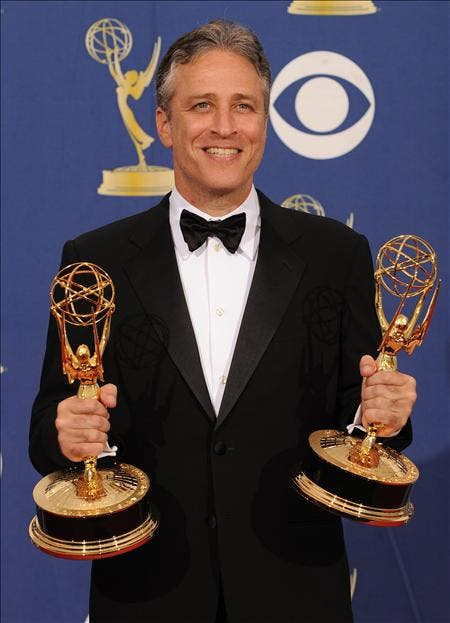 """El humorista Jon Stewart, elegido el hombre """"más influyente"""" de EE.UU."""