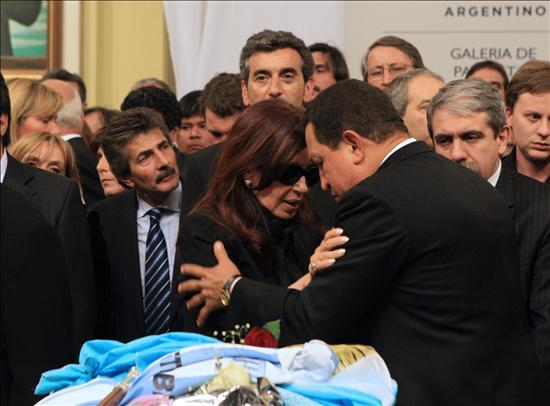 Argentina se prepara para el último adiós a Néstor Kirchner