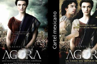 Amenábar se avergüenza de 'Ágora' y le cambia el título