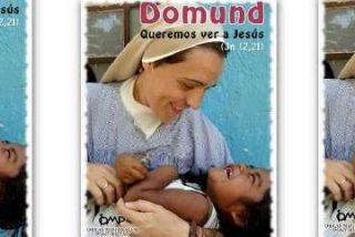 Una monja misionera de cartel