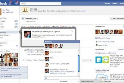 Facebook mejora el control de privacidad de los perfiles y rediseña la aplicación de grupos