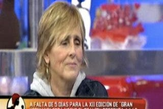 """Mercedes Milá : """"La muerte de Antonio Puerta me importa un bledo, yo he venido a hablar de GH"""""""
