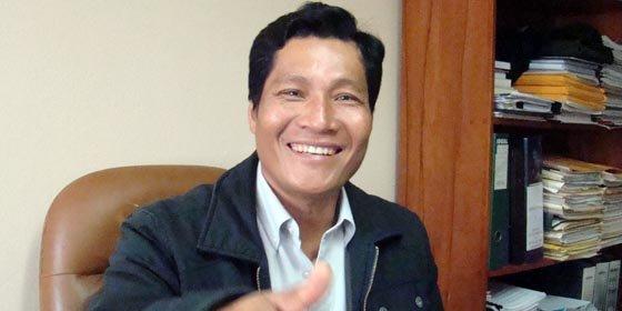 Líder indígena anuncia candidatura a presidencia del Perú