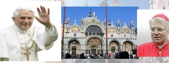 Benedicto XVI visitará Venecia los días 7 y 8 de mayo