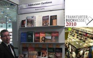 Publicaciones claretinas en la Feria del libro de Frankfurt