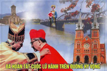 Cardenal Nguyên Van Thuân, camino de los altares