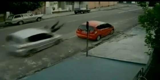 Brutal atropello a una mujer en una calle de Belém (Brasil)