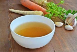 Cómo hacer caldo de verduras casero