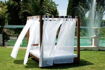 Las camas balinesas, máximo confort al aire libre
