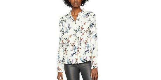 Camisa mujer marfil Black Friday