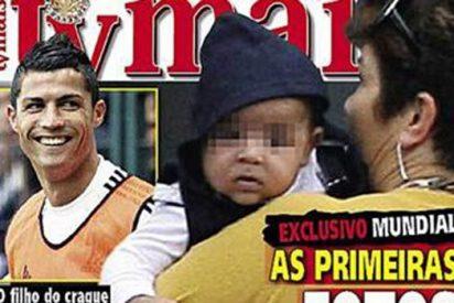 Primeras imágenes del hijo de Ronaldo