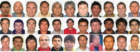 Rescatan a los cuatro primeros mineros de Chile