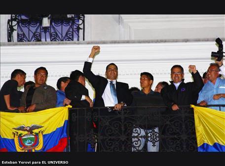Rafael Correa: 'Aquí no habrá perdón ni olvido'