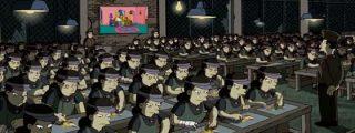 El grafitero Banksy crea unos polémicos títulos de crédito para 'Los Simpsons'