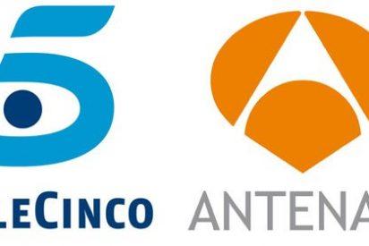 Antena 3 es la tv más valorada y T5 la que menos gusta