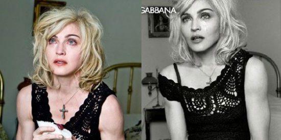 Filtran imágenes de Madonna sin Photoshop