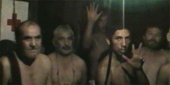 La perforadora llega al refugio de los 33 mineros chilenos