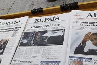 La prensa vive su peor crisis