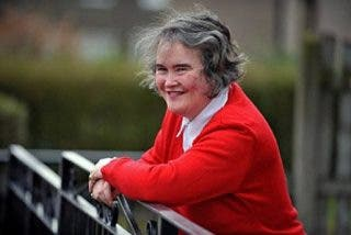 Susan Boyle rompió con su novio por una prohibición de su padre