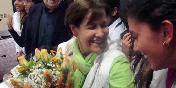 Susana Villarán es elegida alcaldesa de Lima