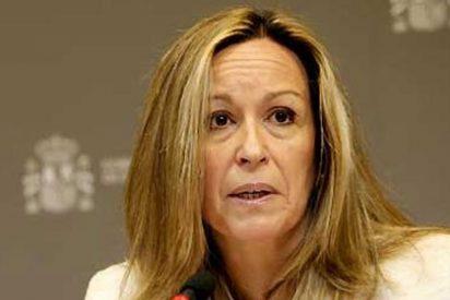 Broma de despedida de la (ex) ministra Jiménez