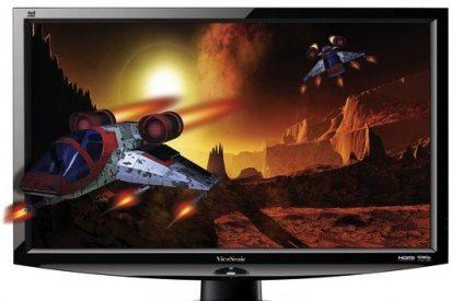 ViewSonic lanza monitor LED 3D de 24 pulgadas por 375€, cuatro veces más barato que un televisor 3D