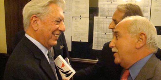"""Vargas Llosa: """"Pensé que era una broma lo del Premio Nobel"""""""