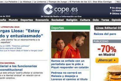 La riada de cambios en COPE tras la llegada de Giménez Barriocanal ahora alcanza a su página web