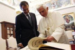 Zapatero y el Papa se verán en el aeropuerto de Barcelona