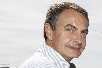 Con Zapatero al cuello