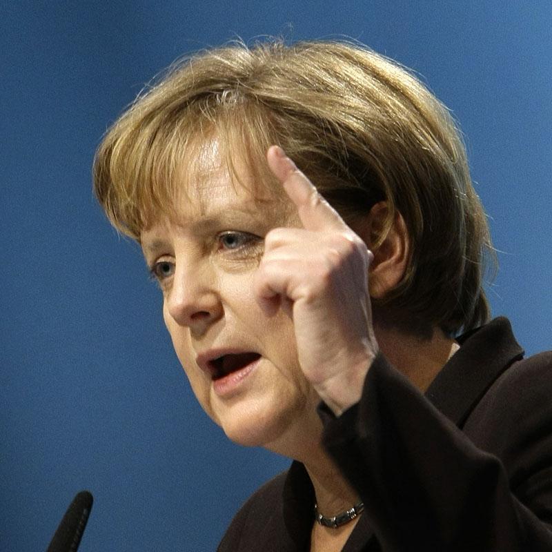 """Merkel: """"No hay mucho Islam sino poco cristianismo"""""""