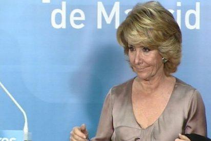 Esperanza Aguirre recorta en 5 millones el presupuesto de Telemadrid