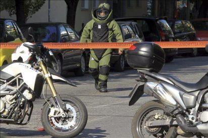 Una serie de paquetes bomba, uno para Sarkozy y otro para México, en Atenas
