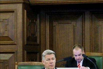 El presidente letón encarga formar nuevo gobierno al actual primer ministro