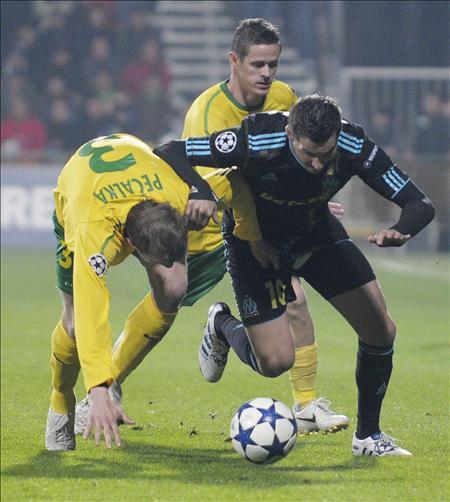 0-7. El Olympique Marsella destroza al Zilina y recupera sus opciones europeas