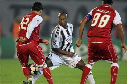 0-1. Moisés mantiene con vida al Braga