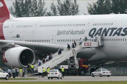Así se vivió el aterrizaje a bordo del Airbus 380