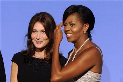Michelle Obama y Carla Bruni no acompañarán a sus maridos a la cumbre del G20