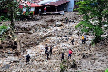 El peor temporal en años deja 21 muertos y graves daños en Costa Rica