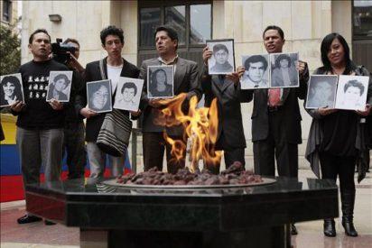 La ONU prende una llama eterna 25 años después de la toma al Palacio de Justicia en Bogotá