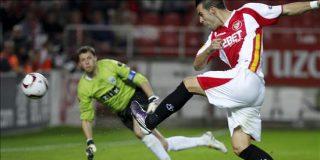 4-0. El Sevilla golea a un débil Karpaty y pone un pié en la siguiente fase