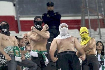 La Policía interviene en una pelea entre radicales del Sevilla y el Karpaty