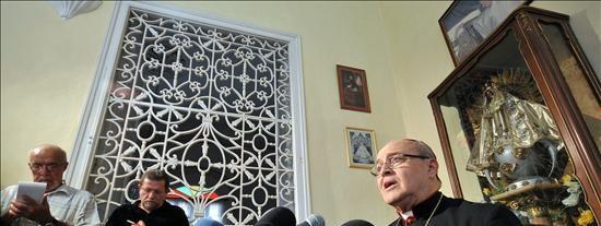 La Iglesia Católica cubana anuncia tres excarcelaciones más