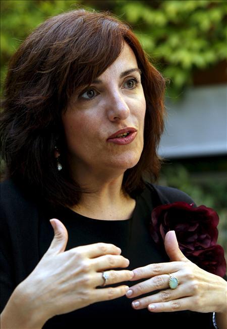 Elvira Lindo presenta su última novela en Nueva York