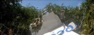 Encuentran la caja negra del avión que se estrelló en la región central de Cuba