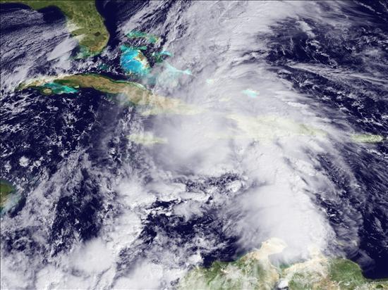 """El huracán """"Tomás"""" provoca fuertes lluvias sobre Haití, República Dominicana y Puerto Rico"""