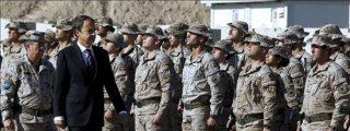 """Zapatero dice en Afganistan que """"no estamos aquí para quedarnos, pero nuestro compromiso es firme"""""""