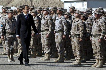 El presidente Zapatero se compromete a mantener la tropas en Afganistán el tiempo necesario