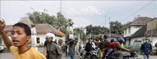 Elevan a 134 los muertos por las erupciones del volcán indonesio Merapi